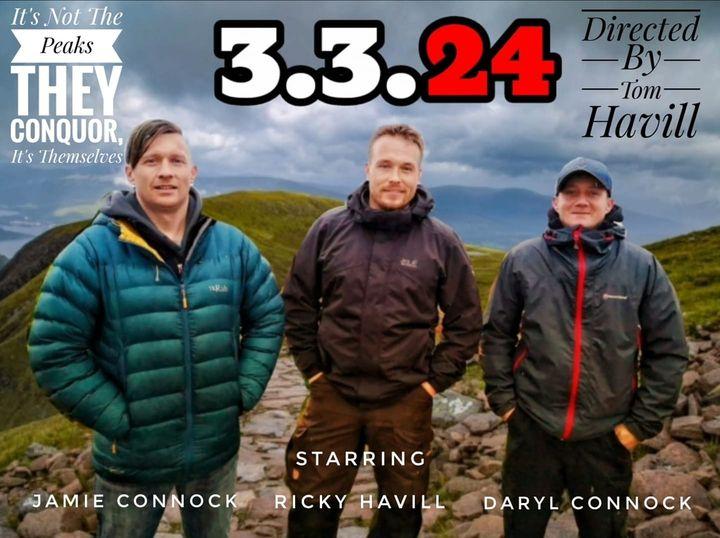 Daryl - 3 peaks